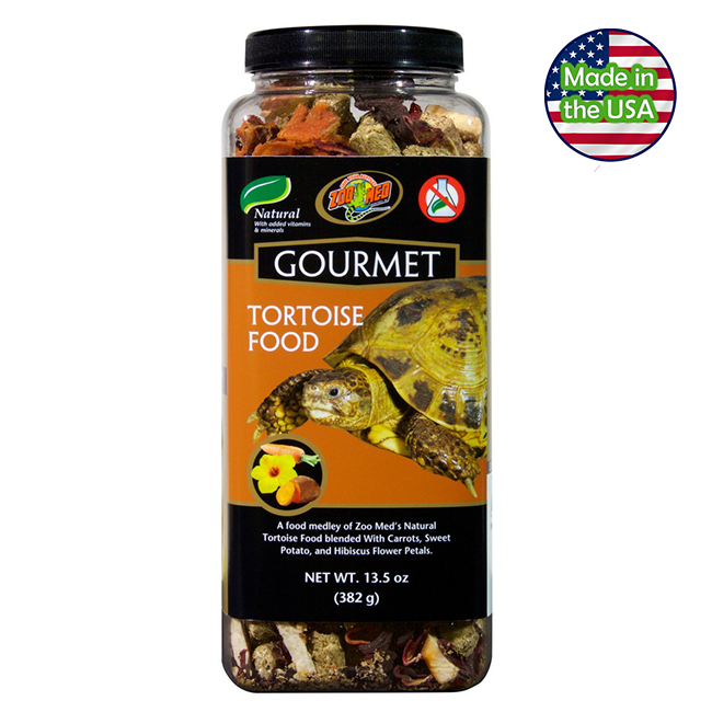 Zoo Med Gourmet Tortoise Food 13.5 oz