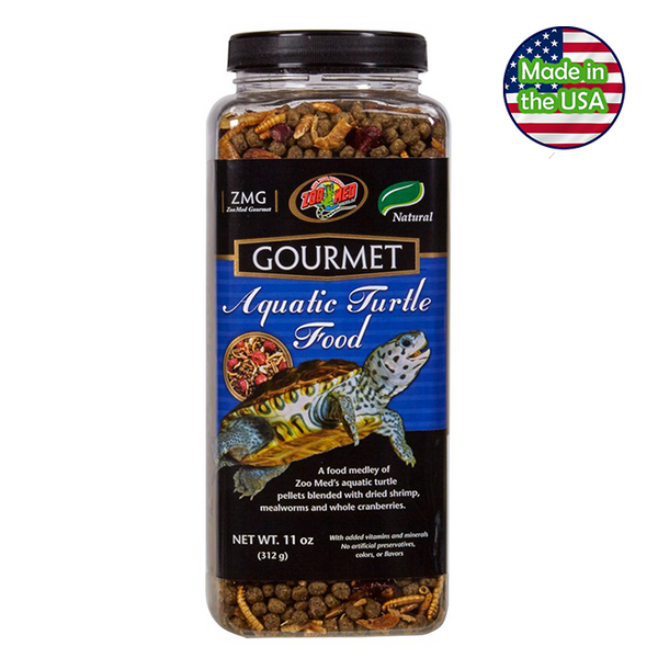 Zoo Med Gourmet Aquatic Turtle Food 11 oz