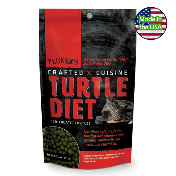 Fluker's Crafted Cuisine Turtle Diet 6.75 oz