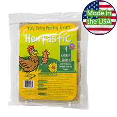 Hentastic® Chicken Treats with Mealworm, Sunflower Hearts, and Oregano with Probiotics