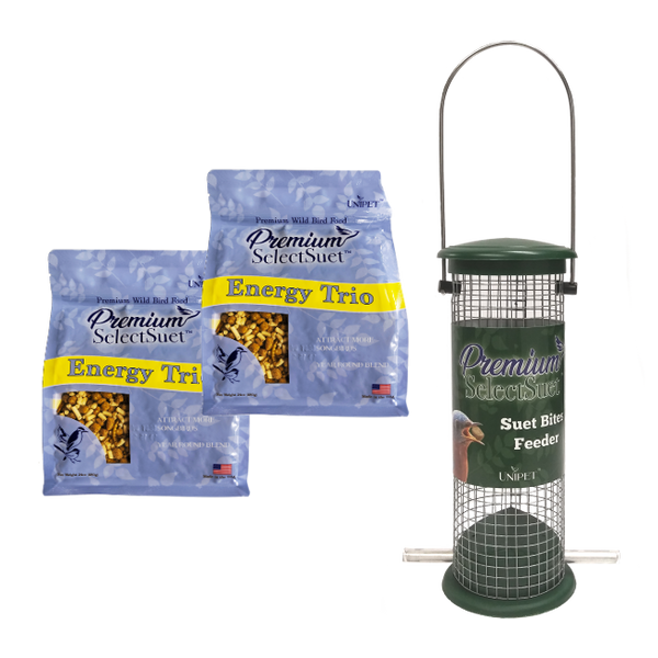 Premium Select Suet™ Suet Bites Feeder Bundle