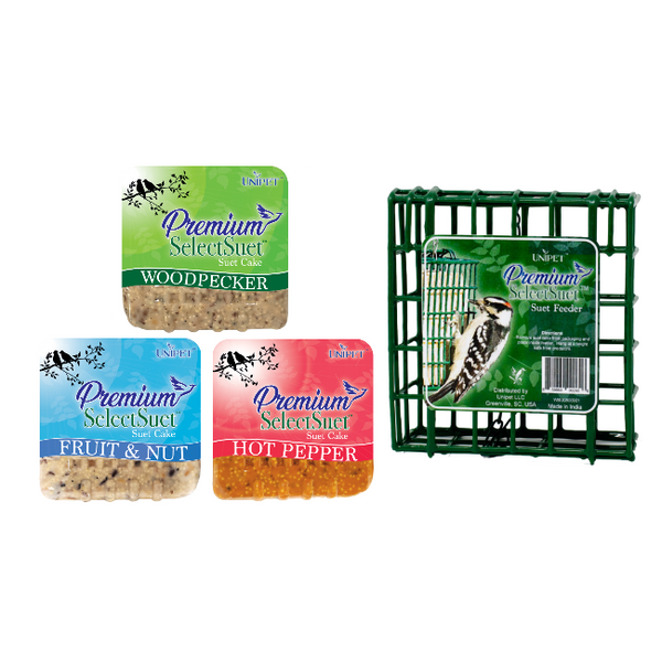 Premium Select Suet™ Suet Feeder Bundle