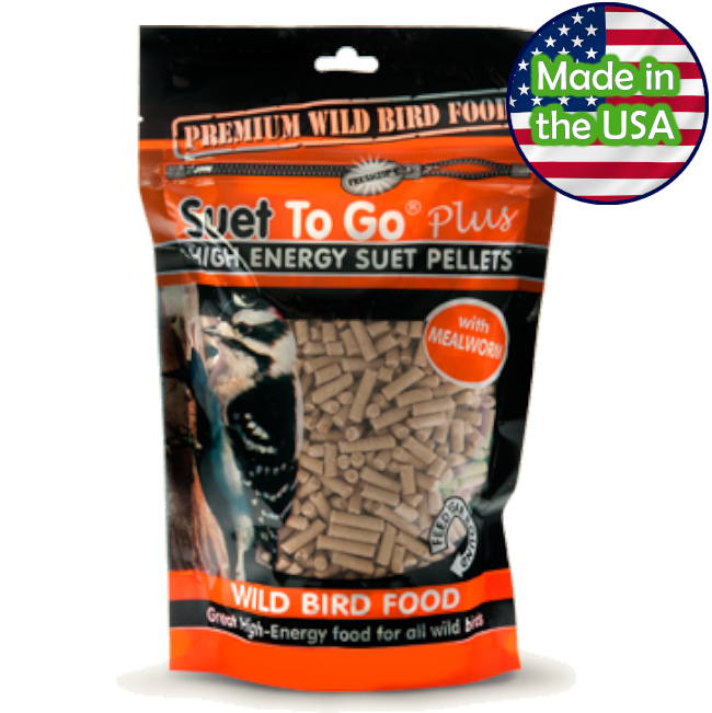 Suet To Go® Plus Mealworm Ziplock Pack 19.4 oz