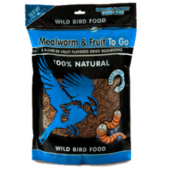 Mealworm To Go® Fruit Ziplock Pack 17.6 oz