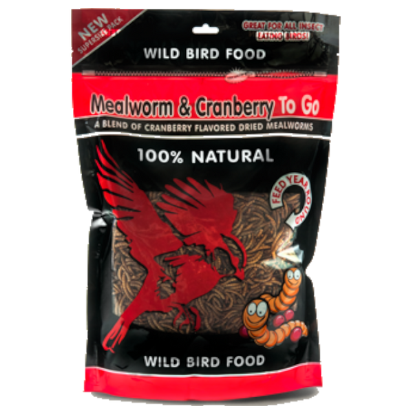 Mealworm To Go® Cranberry Ziplock Pack 17.6 oz