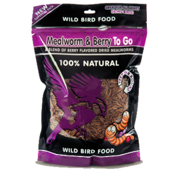 Mealworm To Go® Berry Ziplock Pack 17.6 oz