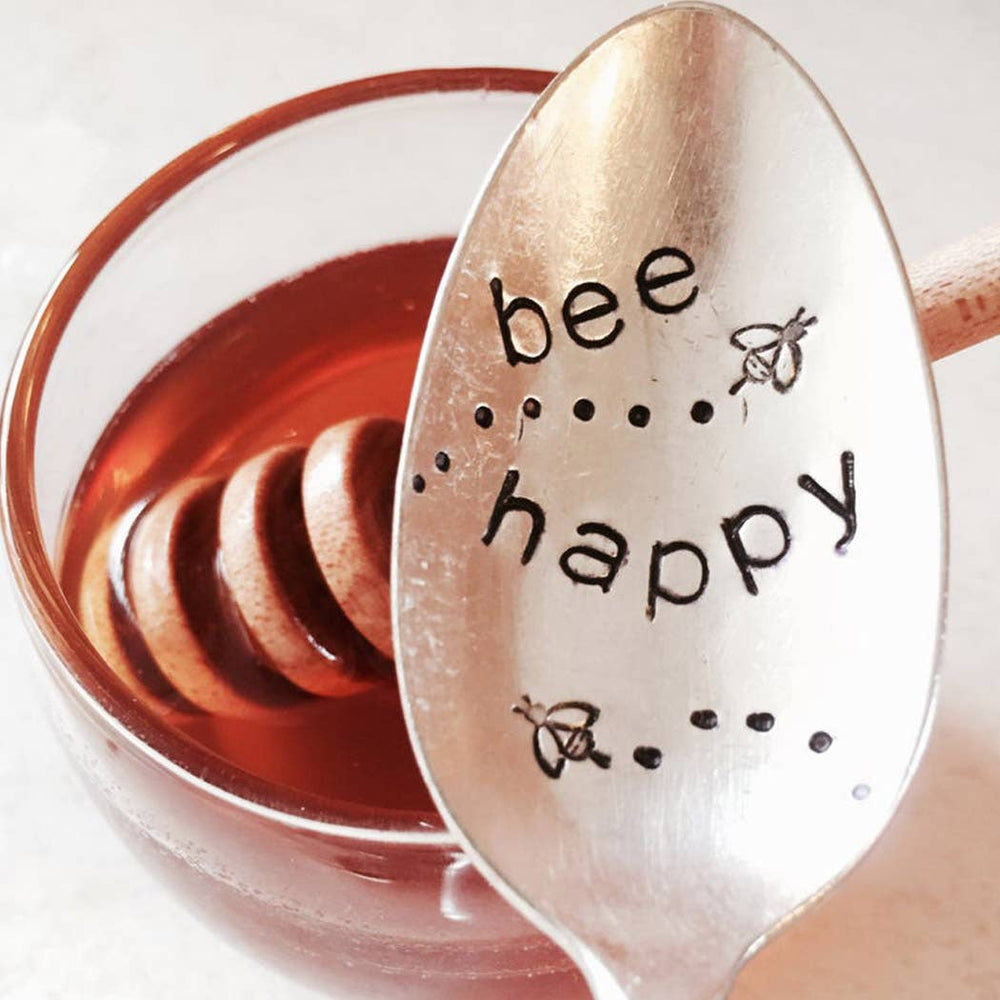 Sweet Thyme Design - Bee Happy Spoon