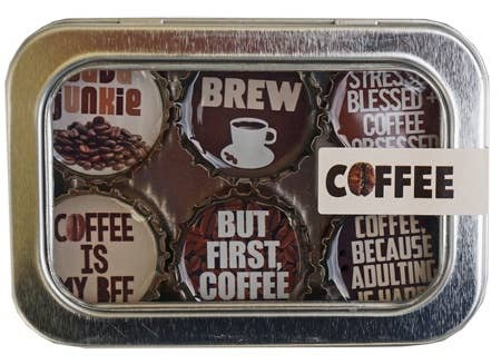 Kate Grenier Designs - Coffee Magnet - Six Pack