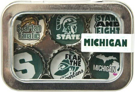 Kate's Magnets - Michigan State Magnet - Six Pack