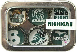 Kate Grenier Designs - Michigan State Magnet - Six Pack