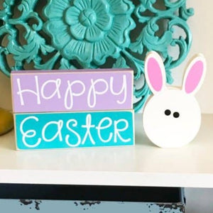 Happy Easter Bunny Blocks