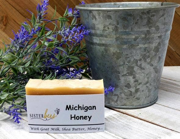 Michigan Honey Handmade Soap