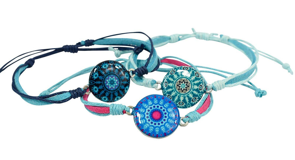 Snazzy and Co - Kids Adjustable Bracelet - Mandala