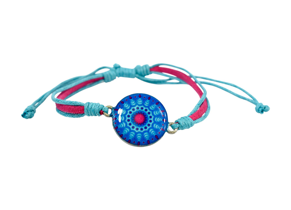 Kids Adjustable Bracelet - Mandala