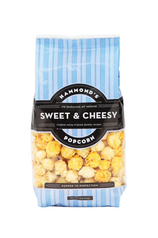 Natural Sweet & Cheesy Popcorn