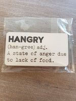 4Love - Hangry Definition Magnet