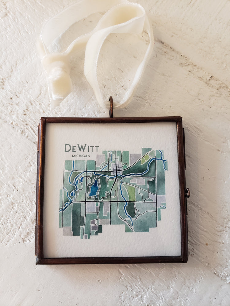 37 Prime - DeWitt Map Ornament