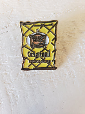 City Bird - Bettermade Chips Enamel Pin