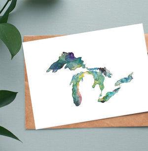 Great Lakes Notecards w/ Envelopes (Set of 6)
