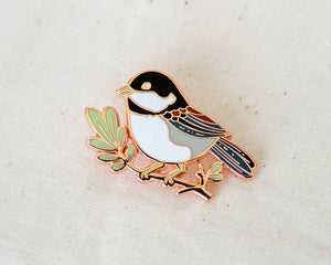 Wildship Studio - Chickadee Enamel Pin