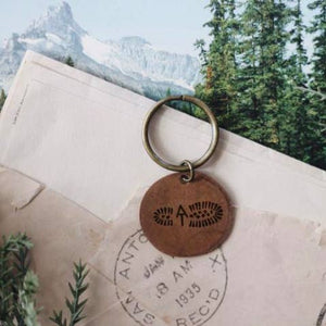 The Traveling Penny - Appalachian Trail Keychain