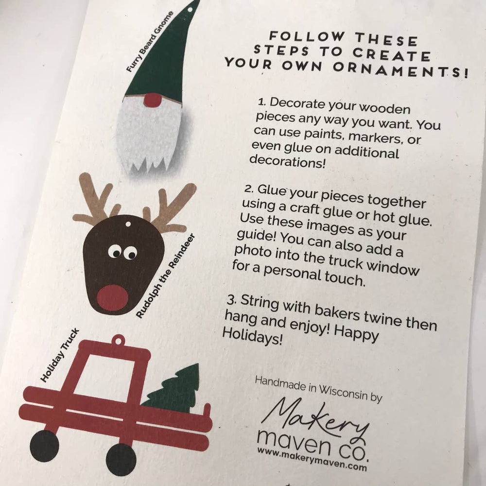 Makery Maven Co. - DIY Ornament Kit