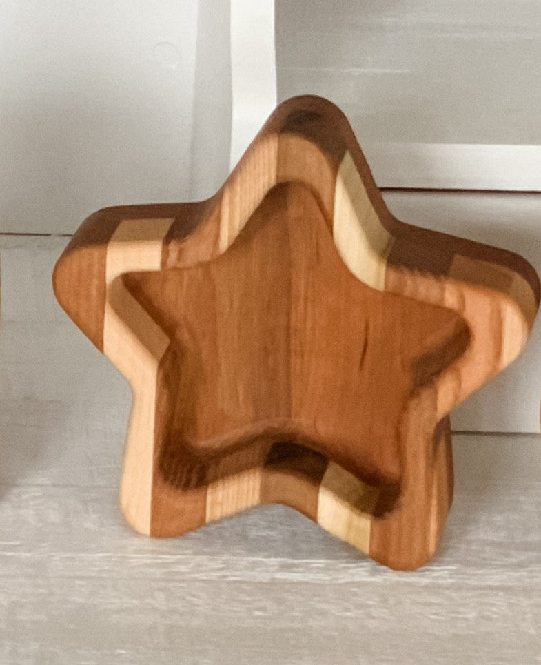 Fosters Wooden Creations - Star Candy Dish