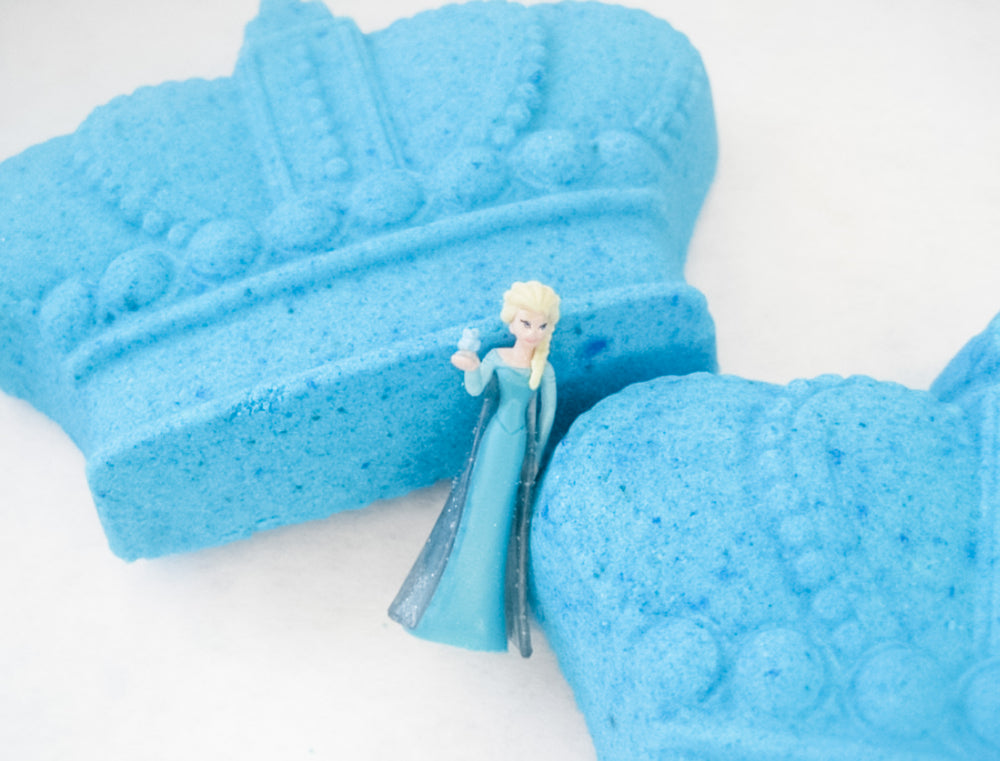 Betty's Bath & Body Shop - Frozen Crown Bath Bomb