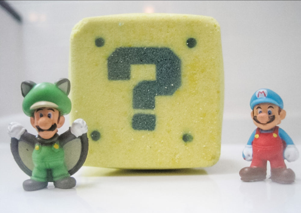 Betty's Bath & Body Shop - Mario Bath Bomb
