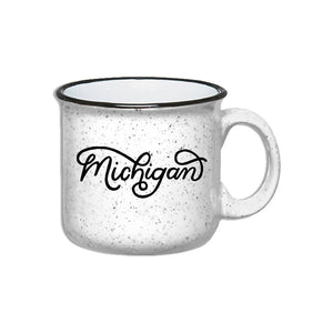 Midwest Supply Co. - Michigan Script Mug Candle
