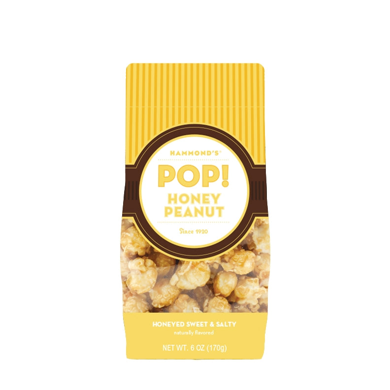 Natural Honey Peanut Popcorn