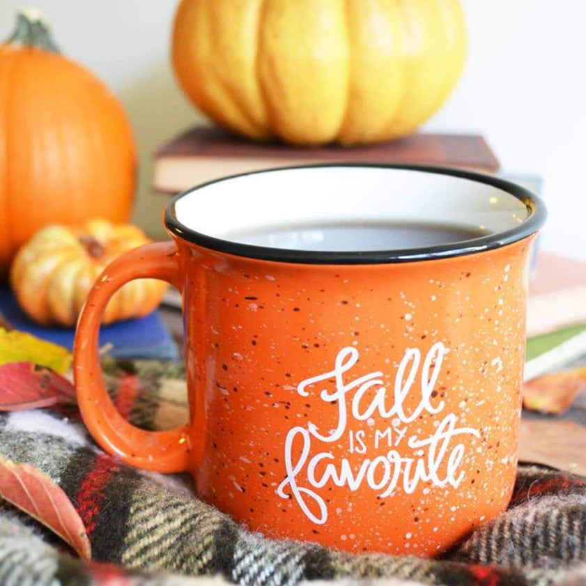 Pen & Paint - Fall is my Favorite Orange Mug