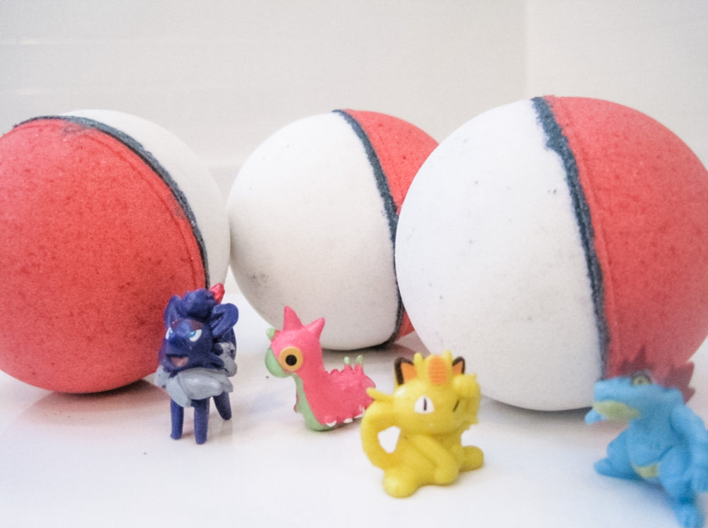 Betty's Bath & Body Shop - Pokemon Bath Bomb