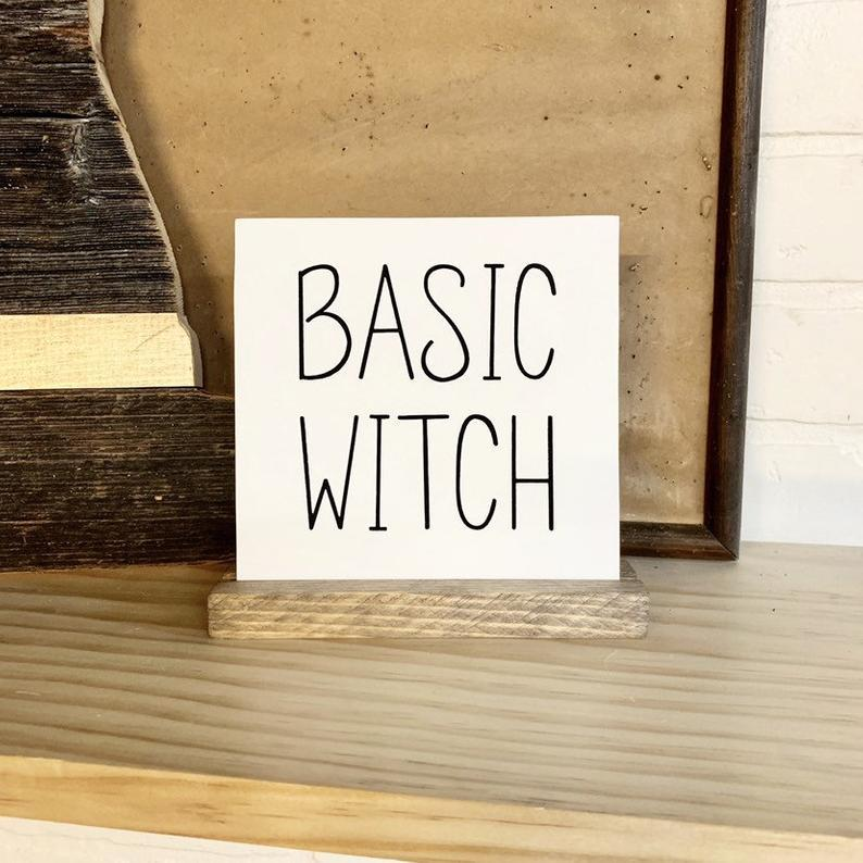 4Love - Basic Witch Mini Sign