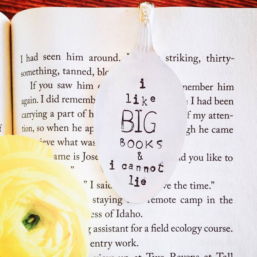 Sweet Thyme Design - Big Books Bookmark