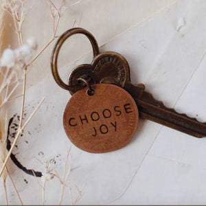 The Traveling Penny - Choose Joy Keychain