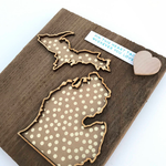 Makery Maven Co. - Mini Love Where You Live Wall Art