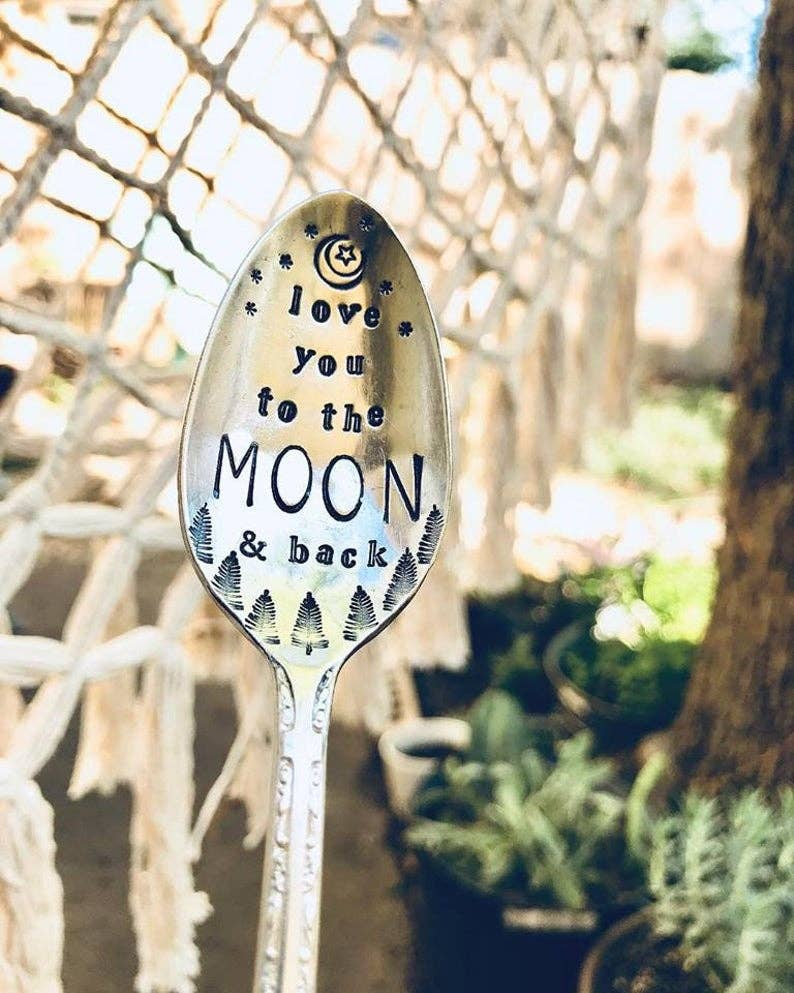 Moon and Back Spoon