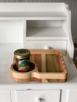 Fosters Wooden Creations - Chip N Dip Tray