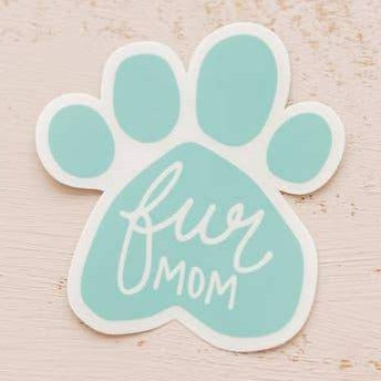 Fur Mom Vinyl Sticker