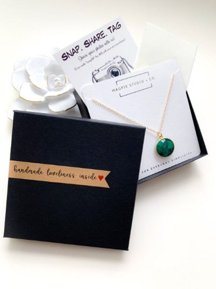 Magpie Studio + Co - Gemstone Necklace