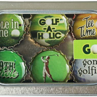 Kate's Magnets - Golf Magnet - Six Pack