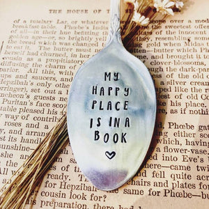 Sweet Thyme Design - Happy Place Bookmark