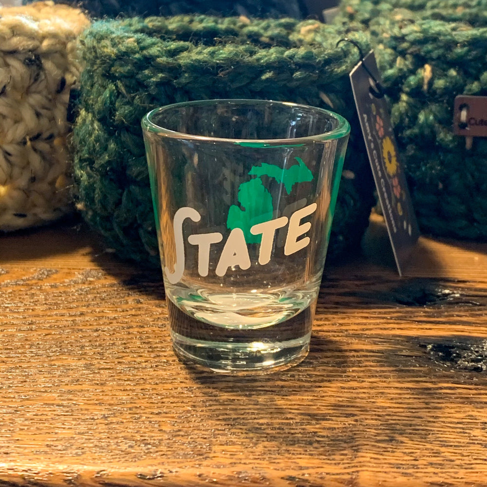Michigan State Shot Glass