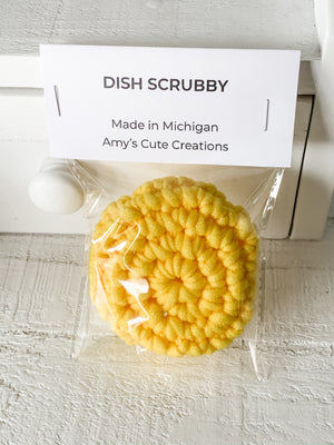 Amy's Cute Creations - Dish Scrubby