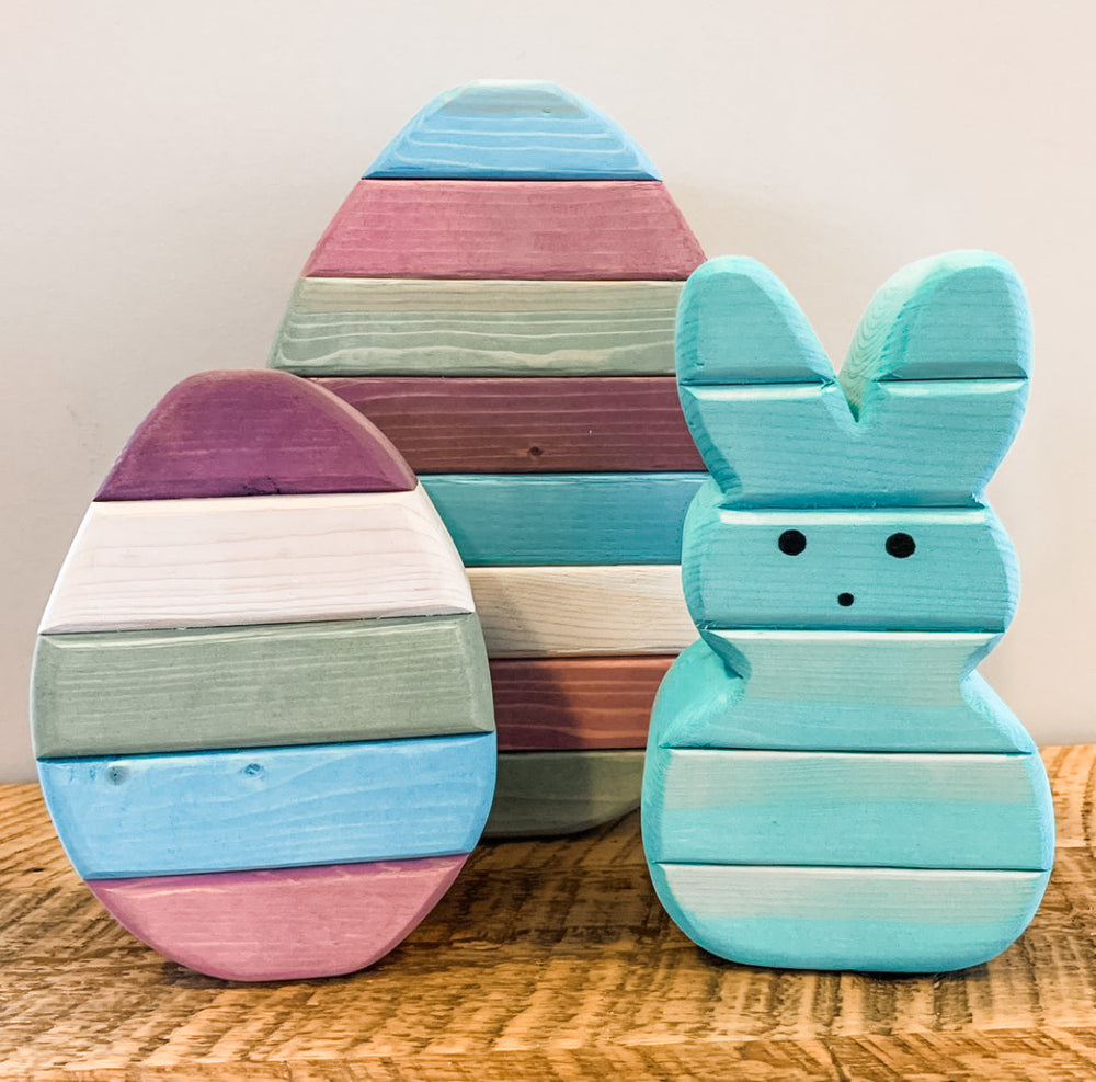 Chunky Easter Eggs ( 2 Sizes Available )