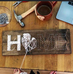 Gather Studios -Michigan Home String Art Kit