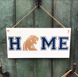 4Love- Panther HOME Hanging Sign