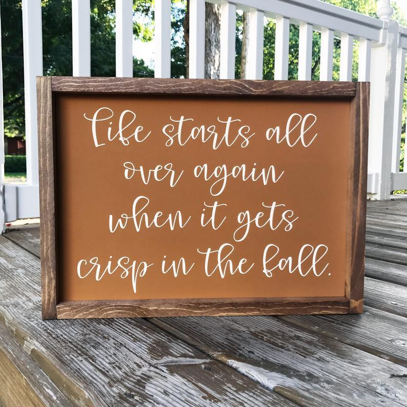4Love - Life Starts All over Again (Framed Sign)