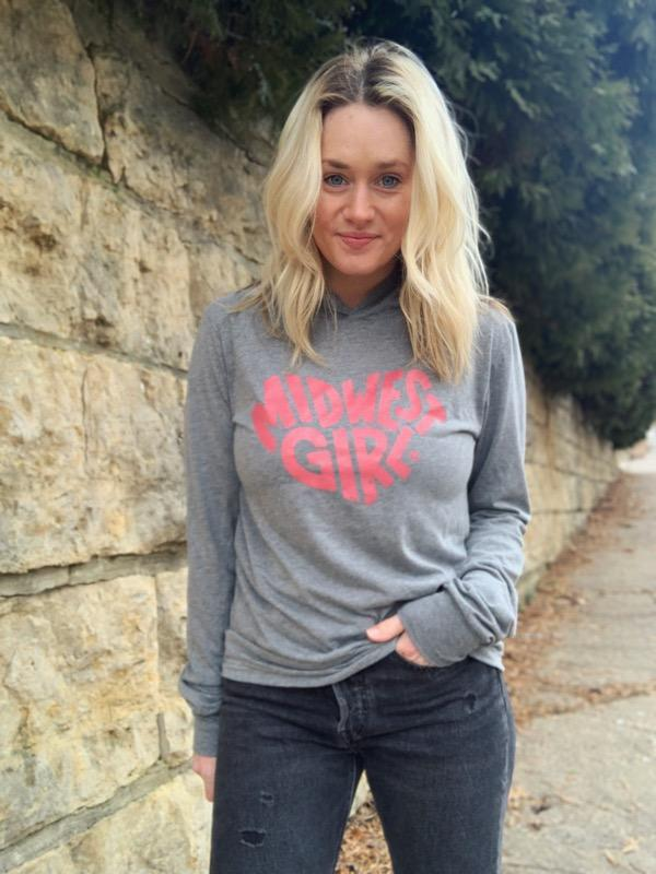 The Midwest Girl - Loveland Tee Shirt Hoodie